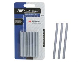 Reflexní pásky na dráty klipy na špice 3M 36ks 7cm