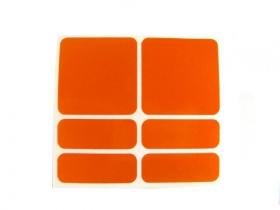 Reflexní samolepky 3M Shaman oranžová
