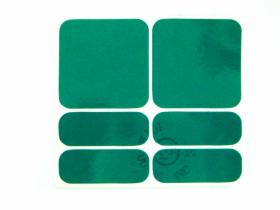 Reflexní samolepky 3M Shaman zelená