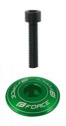 Zobrazit detail - Víčko hlavového složení Frorce průměr 28,6 / 1 1/8 ELOX zelená