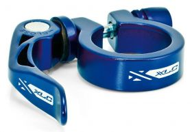 Zobrazit detail - Objímka sedlovky XLC 31,8 mm PC-L04 s rychloupínákem modrá