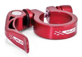 Zobrazit detail - Objímka sedlovky XLC 31,8 mm PC-L04 s rychloupínákem červená