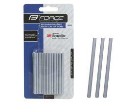 Reflexní pásky na dráty klipy na špice 3M 10ks 7cm