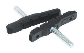 """Zobrazit detail - Brzdové špalíky KLS POWERSTOP C-02 Cantilever """"V"""" černé"""