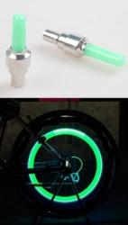 Čepičky ventilku Blikačky Altima na ventilek 1 ks zelený