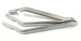 Montpáky Nexelo ocel sada 3 ks stříbrné