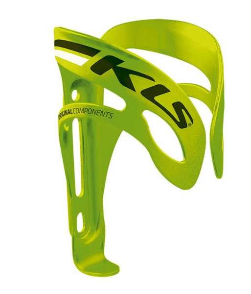 Košík na láhve KLS SQUAD lime - zelená