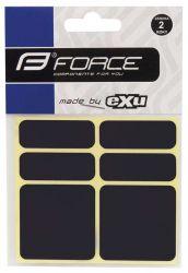 Reflexní samolepky 3M EXU - Shaman černá