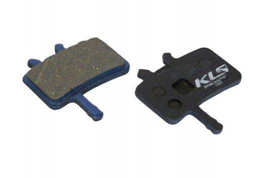 Brzdové destičky KLS D-02, organické (pár) kellys