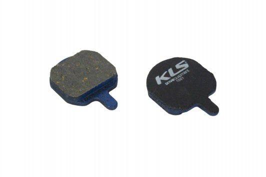 Brzdové destičky KLS D-08 Hayes organické (pár) kellys