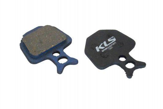 Brzdové destičky KLS D-09 Formula organické (pár) kellys