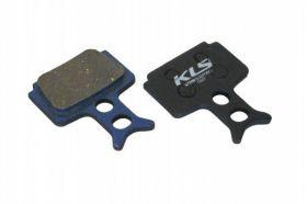 KELLYS Brzdové destičky KLS D-10, organické (pár)