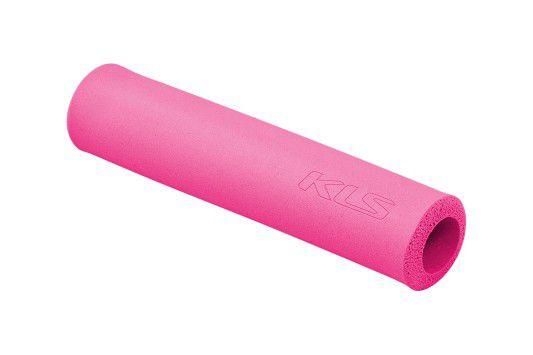 Rukojeti KLS SILICA 2ks pink Kellys