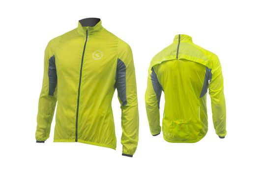 KELLYS Bunda WINDPACK green - XL Kellys Bicycles