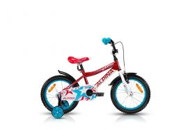 "KELLYS ALPINA Starter 16"" red PINA Kellys Bicycles"
