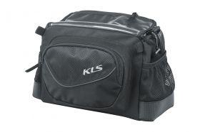 Brašna na řídítka KLS Lead 4L klickfix 25,4 až 31,8 mm černá
