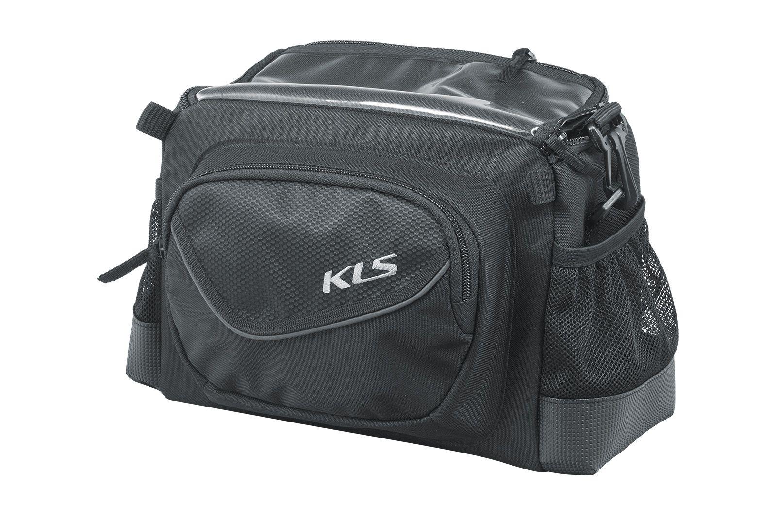 Brašna na řídítka KLS Lead 4L klickfix 25,4 až 31,8 mm černá Kellys
