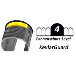 "Plášť Schwalbe Delta Cruiser 40-635 28x1 1/2"" krémová Reflex KevlarGuard"