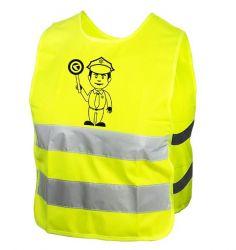 Reflexní vesta Kellys STARLIGHT policie dětská M