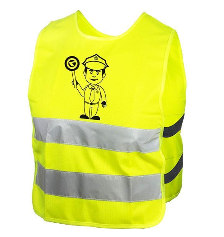 Reflexní vesta Kellys STARLIGHT policie dětská L