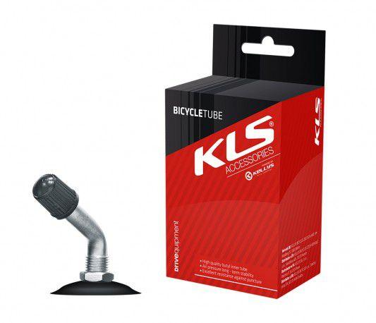 """Duše KLS 12"""" 203 12x1,75-2,1 auto ventilek zahnutý AV 40mm 45°"""