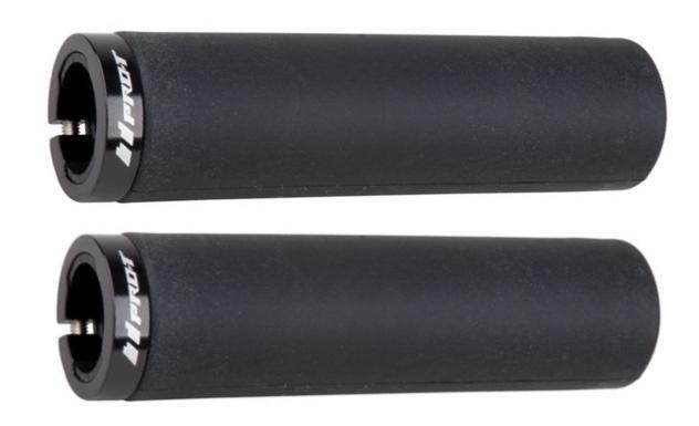 Gripy ProT 016 silicon zajišťovací šroubky černá 2ks Pro-T