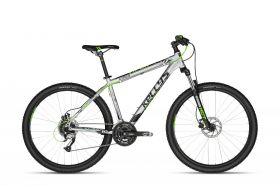 "KELLYS K18047 Viper 50 Silver-GreenNeon 27.5 21.5"" 2018 Kellys Bicycles"
