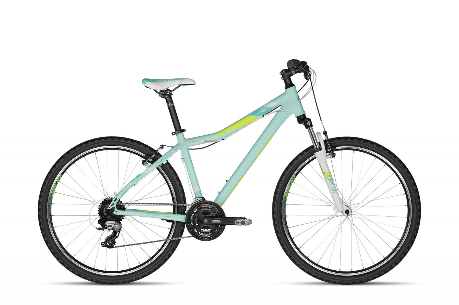 "Vanity 20 Aqua Lime 27.5 17"" 2018 Kellys Bicycles"