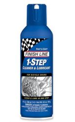 Olej Finish Line 1-Step čistič a mazivo na řetěz 236 ml