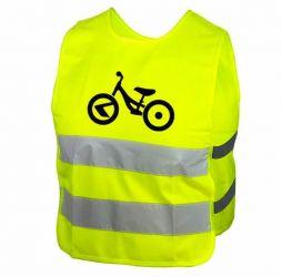 Reflexní vesta Kellys STARLIGHT bike dětská S