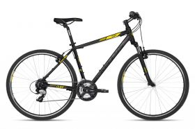 "KELLYS K18178 Cliff 30 Black Yellow 21"" 2018"