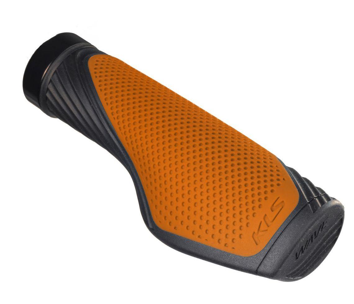 Rukojeti KLS WAVE 017 LockOn orange Kellys