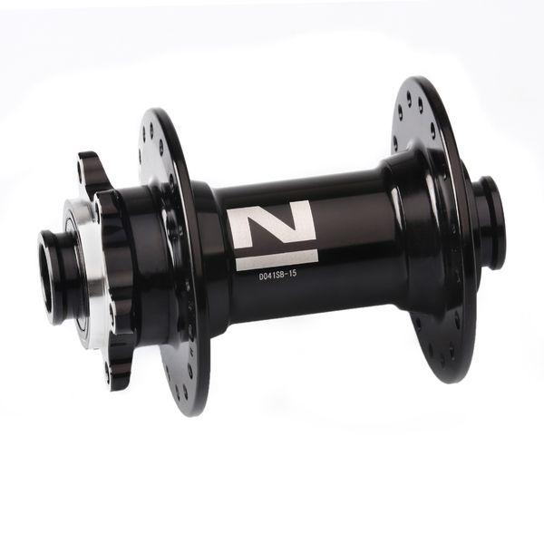 Náboj Novatec D041SB-15, predný, 36-dierový, čierny (N-logo)