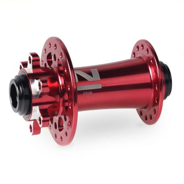 Náboj Novatec D791SB-15, přední, 32-děr, červený (N-logo)