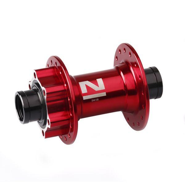 Náboj Novatec DH41SB, predný, 32-dierový, červený (N-logo)