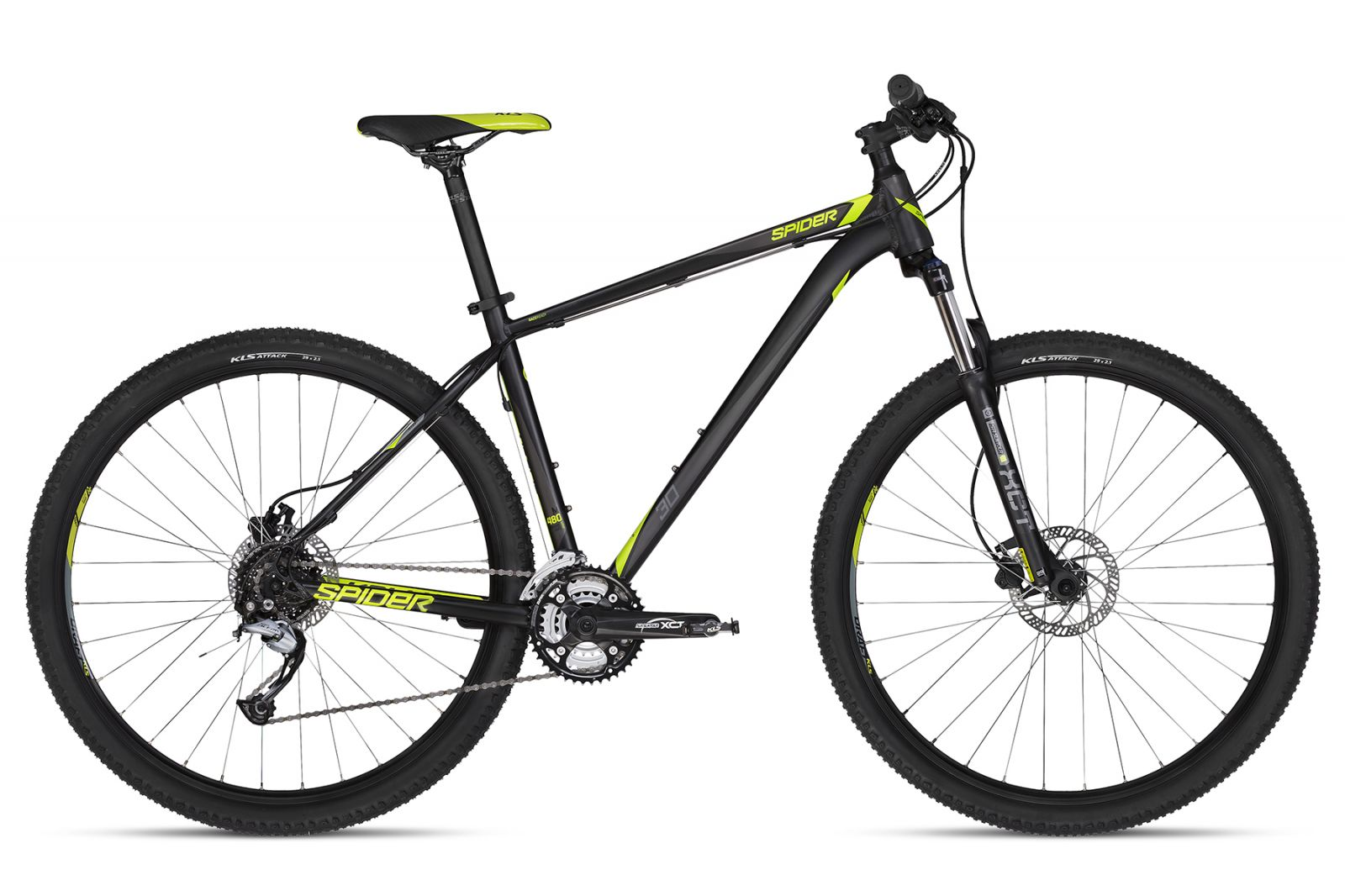 KELLYS Spider 30 Black 430 29 S 2018 Kellys Bicycles