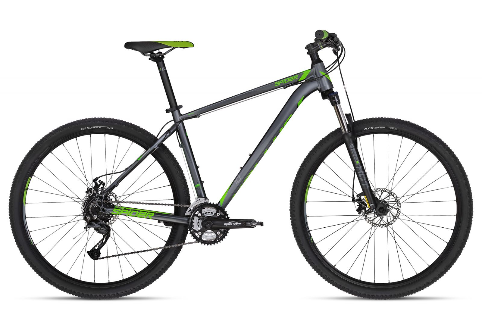 KELLYS Spider 10 Green 430 29 S 2018 Kellys Bicycles