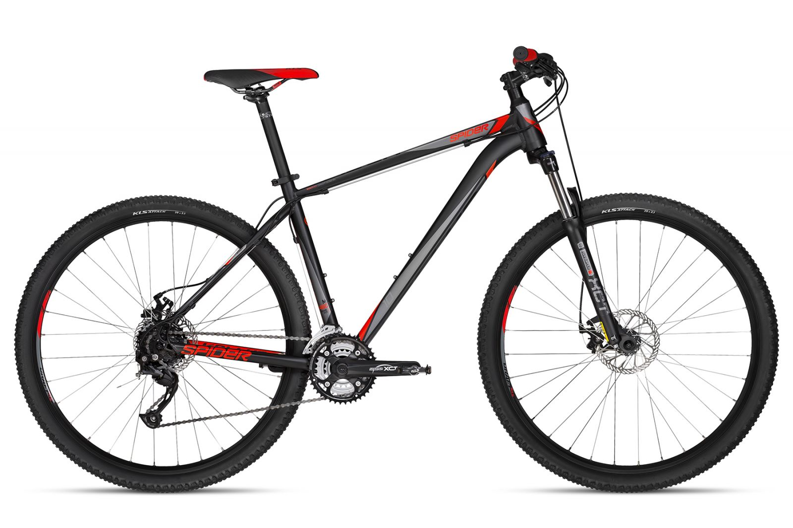 KELLYS Spider 10 Black 430 29 S 2018 Kellys Bicycles