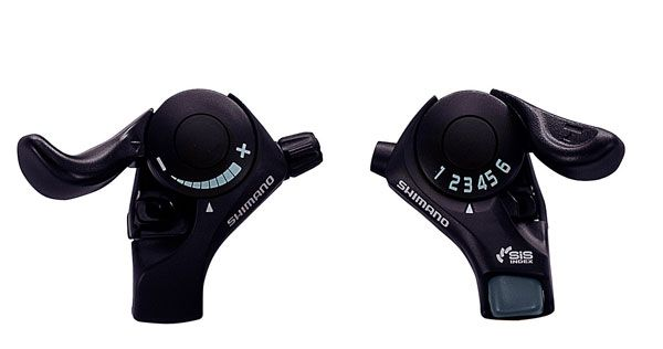 Řazení Shimano SLTX30LFB + R6A 6k 3x6