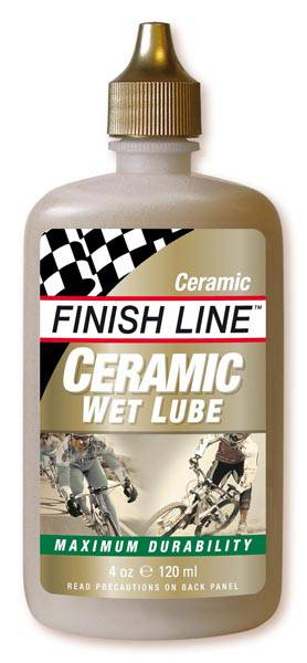 Olej Finish Line Ceramic Wet mazivo na řetěz 60 ml