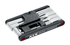 Multiklíč KLS Gudie s nýtovačem řetězu 15 funkcí