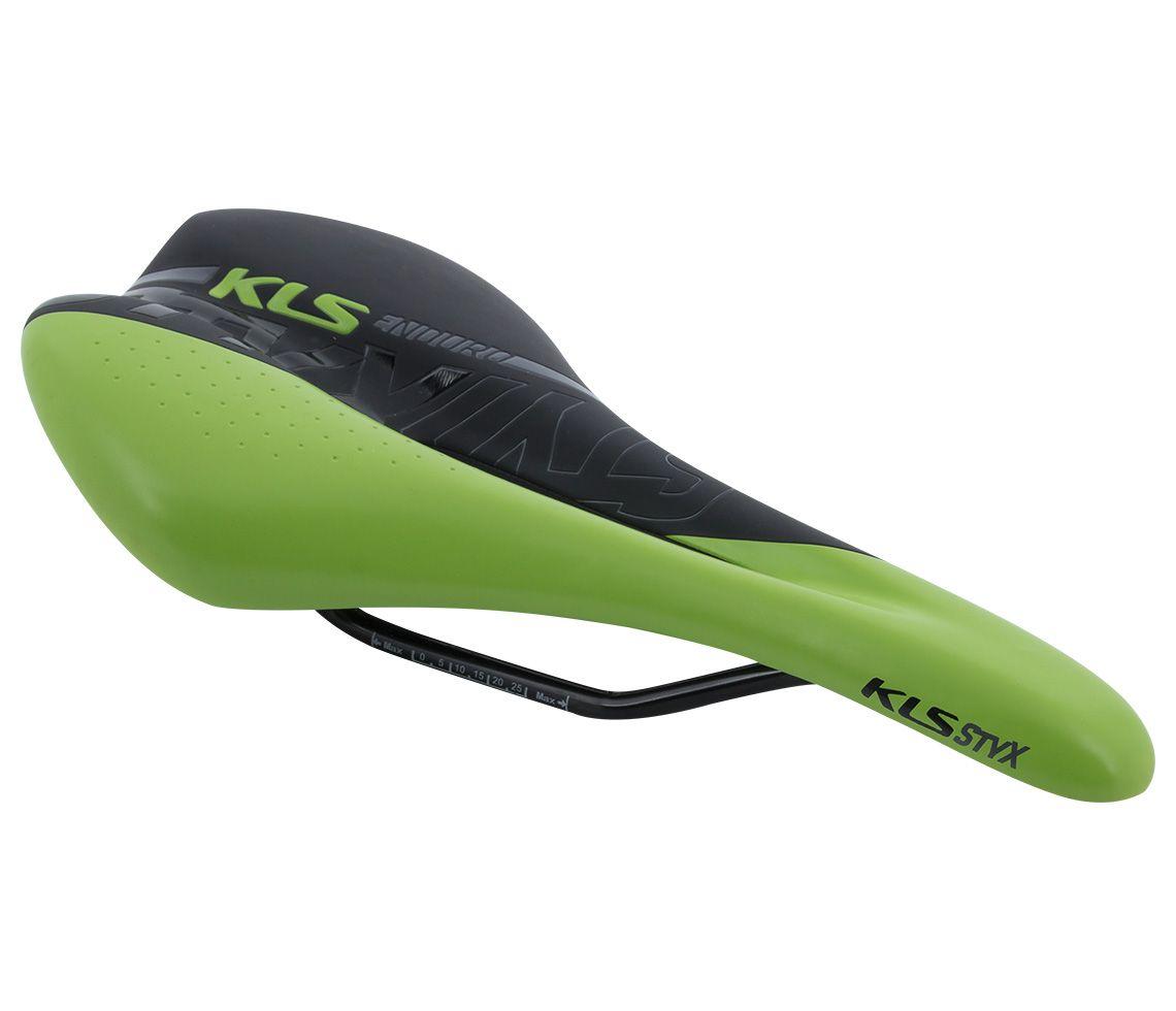 KELLYS Sedlo STYX 019, green Kellys Bicycles