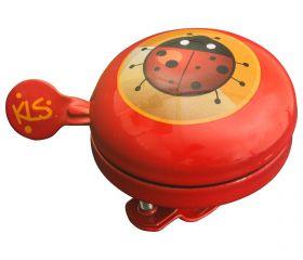 Cyklistický Zvonek Bell 60 Kids Red