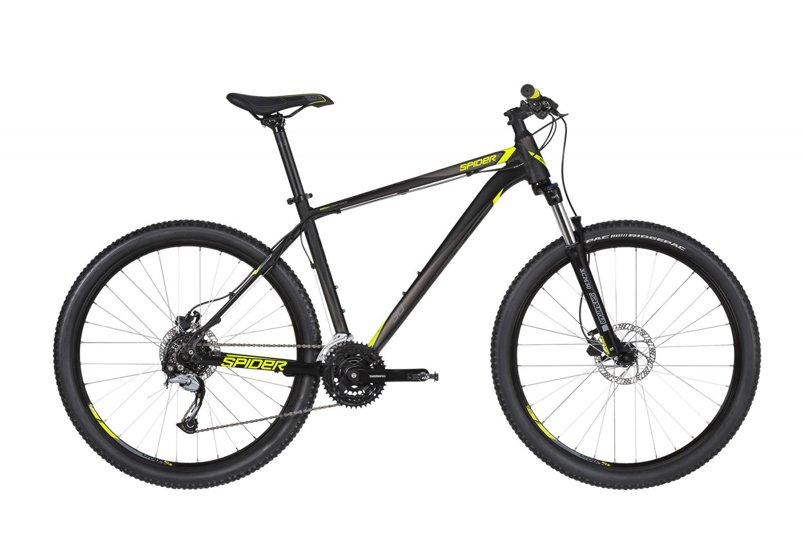 "KELLYS K19037 Spider 30 Black 27.5"" M 2019 Kellys Bicycles"