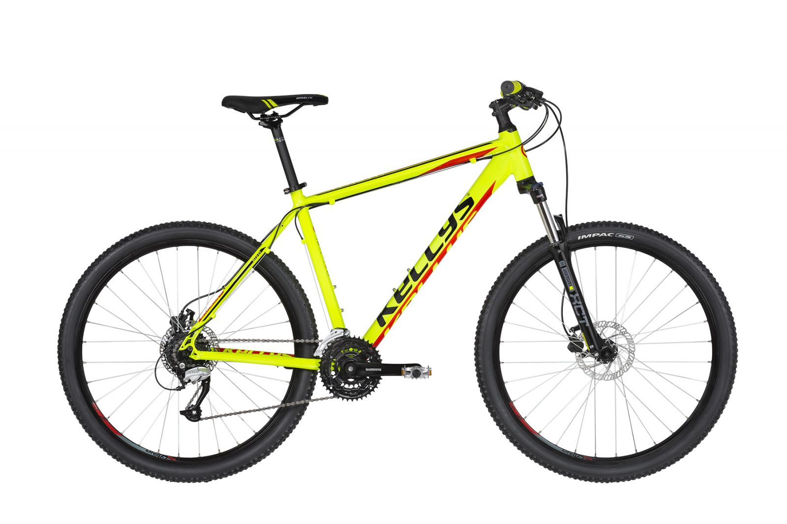 "KELLYS Madman 50 Neon Lime 27.5"" M 2019 Kellys Bicycles"