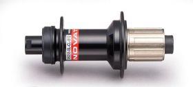 Náboj Novatec D952SB-SL-CL-B12-11S, zadní, 32-děrový, černý (N-logo)