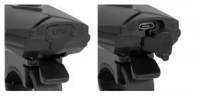 Světlo Force Cass přední 300 lůmenů USB kabel černá