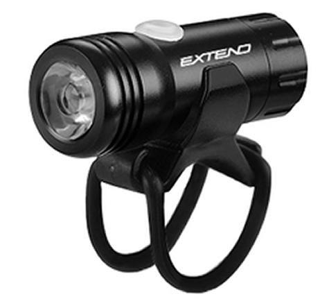 Světlo přední Venom 150 lůmenů 1x SuperBright LED USB černá Extend