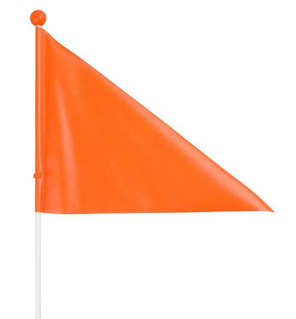Bezpečnostní praporek kolo vozík kočárek 150 cm oranžový Velo