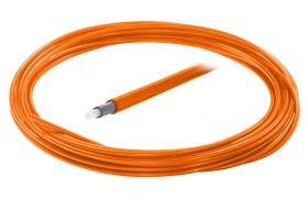 Bowden brzdový 5mm teflon barevný 1 m oranžový
